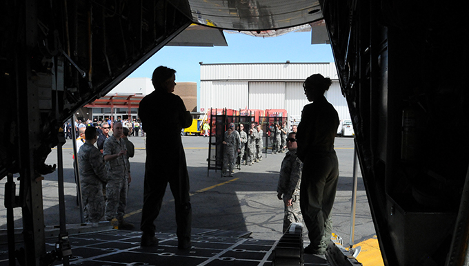 104th Fighter Wing Participates in Excercise at Boston Logan Airport with Local Agencies