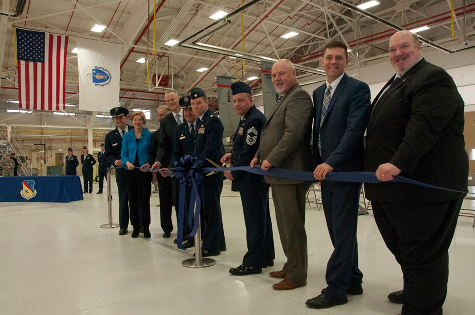 104th Fighter Wing Celebrates Opening of Renovated Hangar