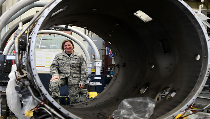 Airman prospers through support of second family