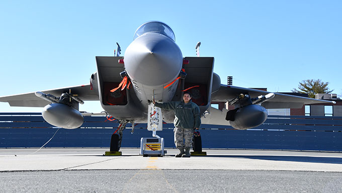 104th Fighter Wing First Sergeant and mechanic thrives in all roles