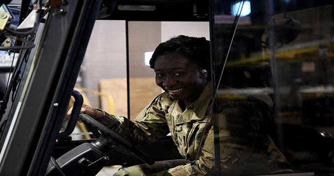 Traffic Management Supervisor, Barbara Clark gets the job done