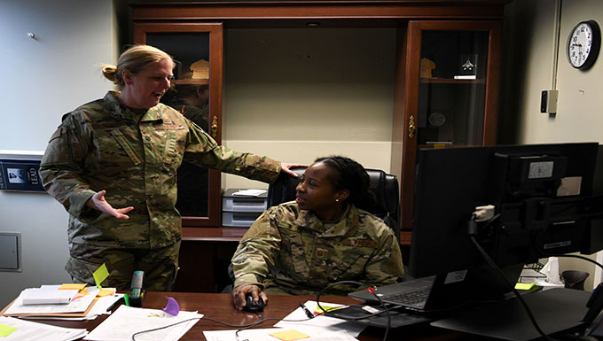 104th Fighter Wing Comptroller manages finance, boosts morale