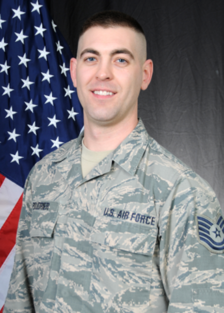 Tech. Sgt. Nathaniel Poudrier